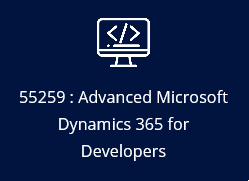 55259: Microsoft Dynamics 365 Customer Engagement for Developers